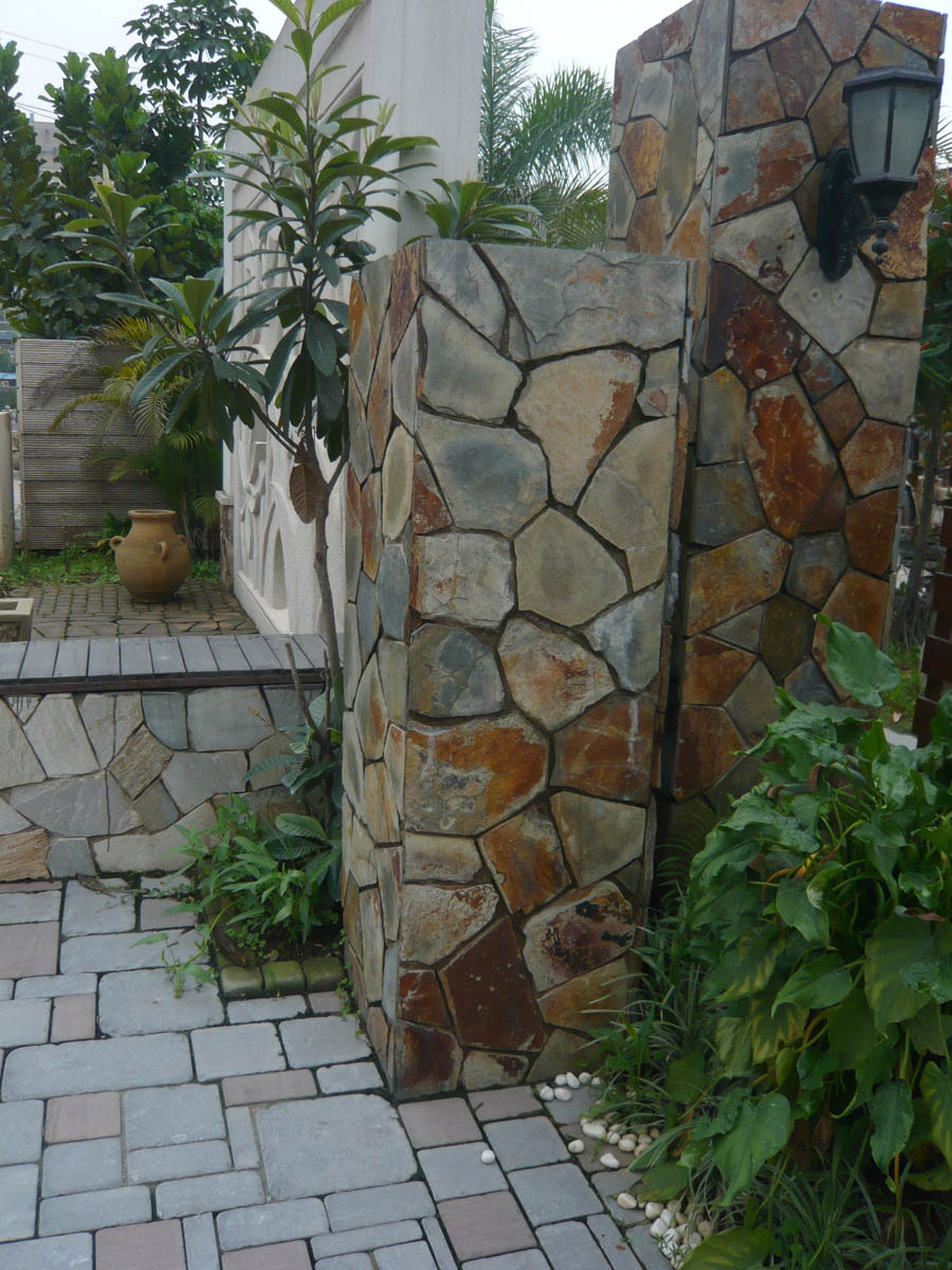 Landscaping Slate Wall Stones