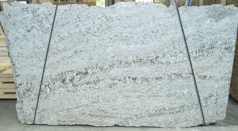 Latinum White Granite Slabs Polished White Slabs for Countertops