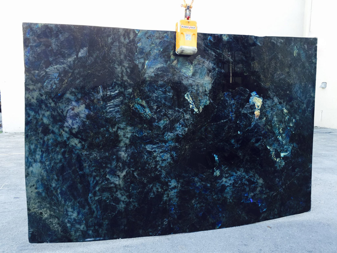 Lemurian Blue Extra Granite Slabs Polished Granite Slabs