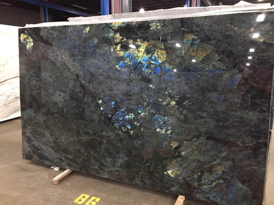 Lemurian Extra Granite Blue Granite Slabs Polished