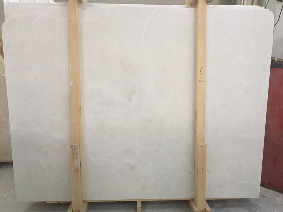 Light Beige Marble Slabs from Turkey