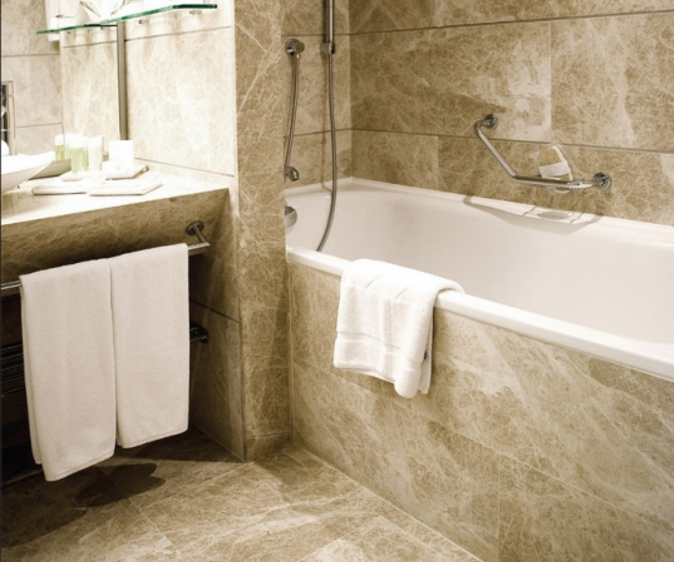 Light Brown Patara Bathroom Marble Tiles