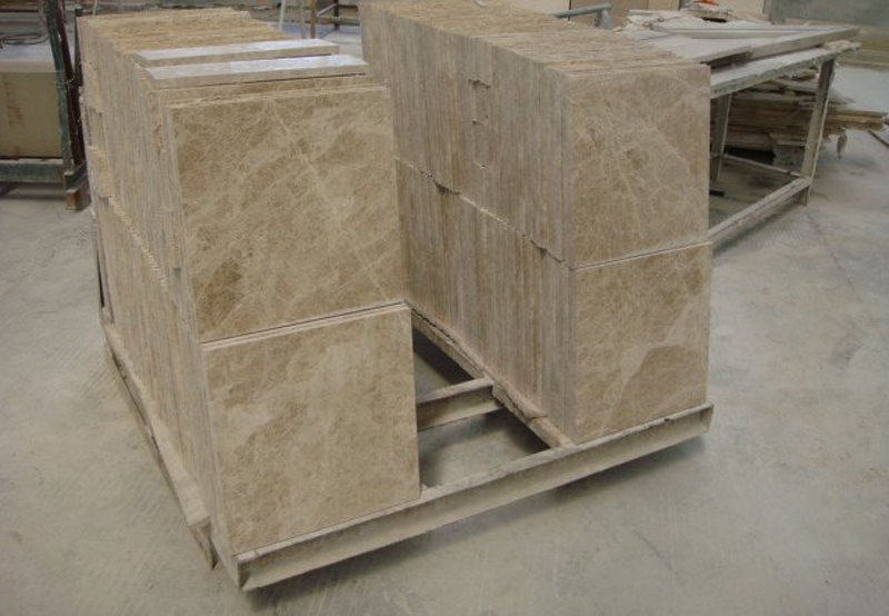 Light Emperador Marble Flooring Tiles Polished Brown Marble Stone Tiles