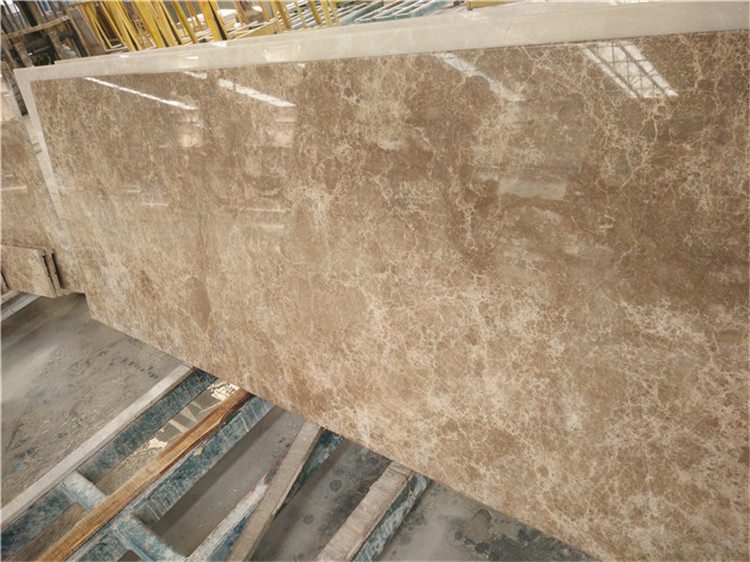 Turkish Light Emperador Marble Half Slabs