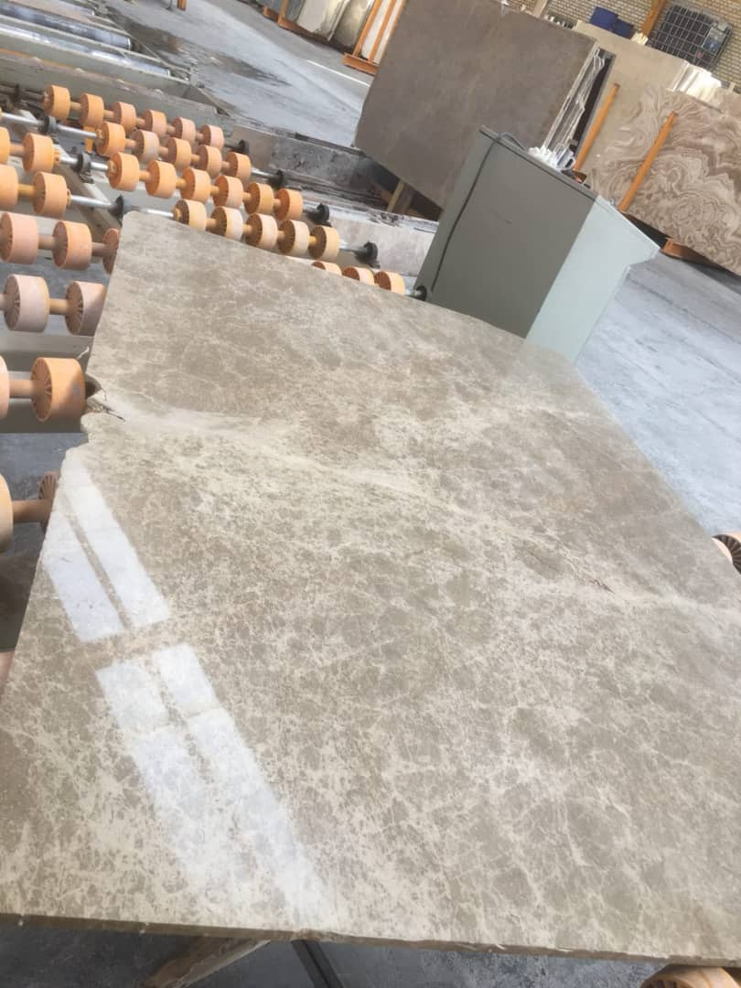 Light Emperador Marble Slabs Iranian Brown Marble Slabs