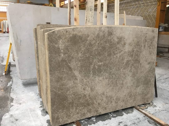 Light Emperador Marble Slabs Polished Brown Marble Slabs from Iran