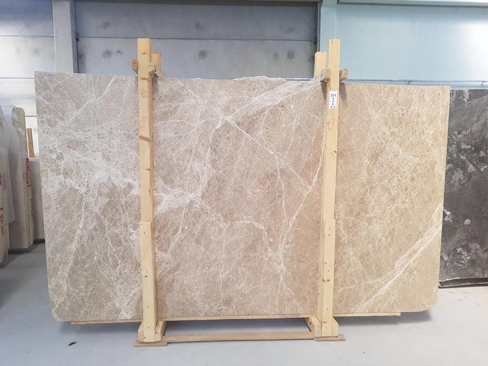 Light Emperador Marble Slabs Polished Brown Marble Slabs