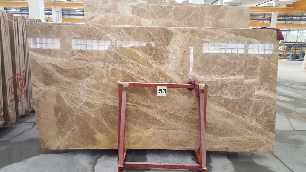 Light Emperador Marble Slabs Polished Marble Slabs