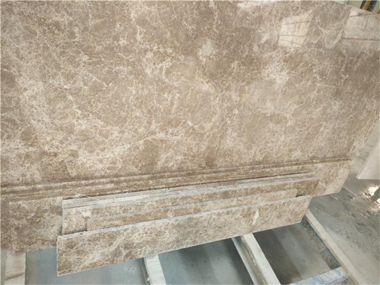Light Emperador Marble Slabs from Turkey