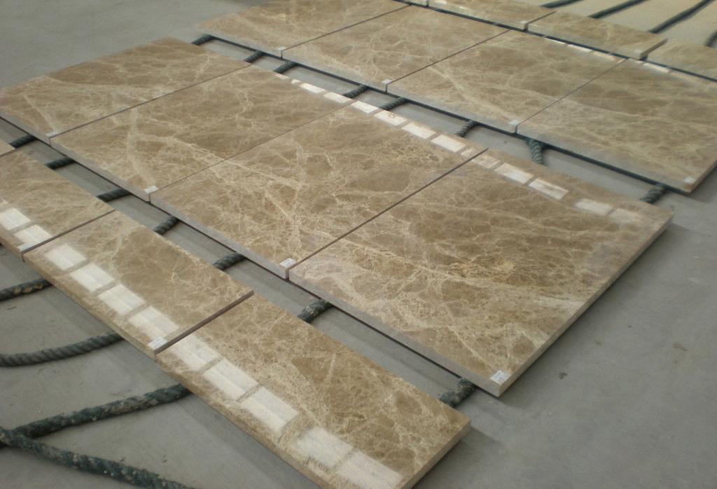 Light Emperador Marble Tiles Polished Brown Marble Flooring Tiles
