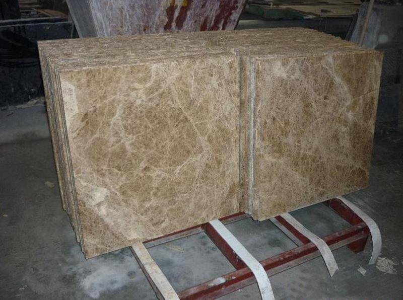 Light Emperador Marble Tiles Polished Brown Marble Stone Flooring Tiles