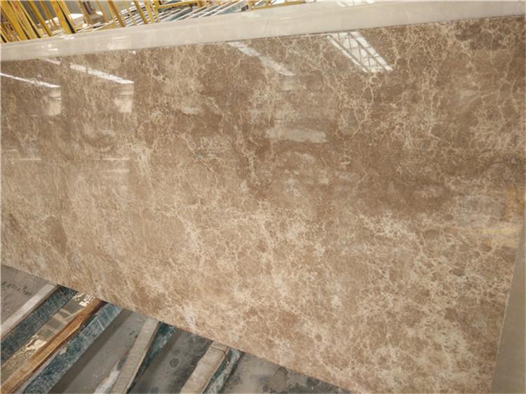 Light Emperador Slabs from Turkey Marble Quarry