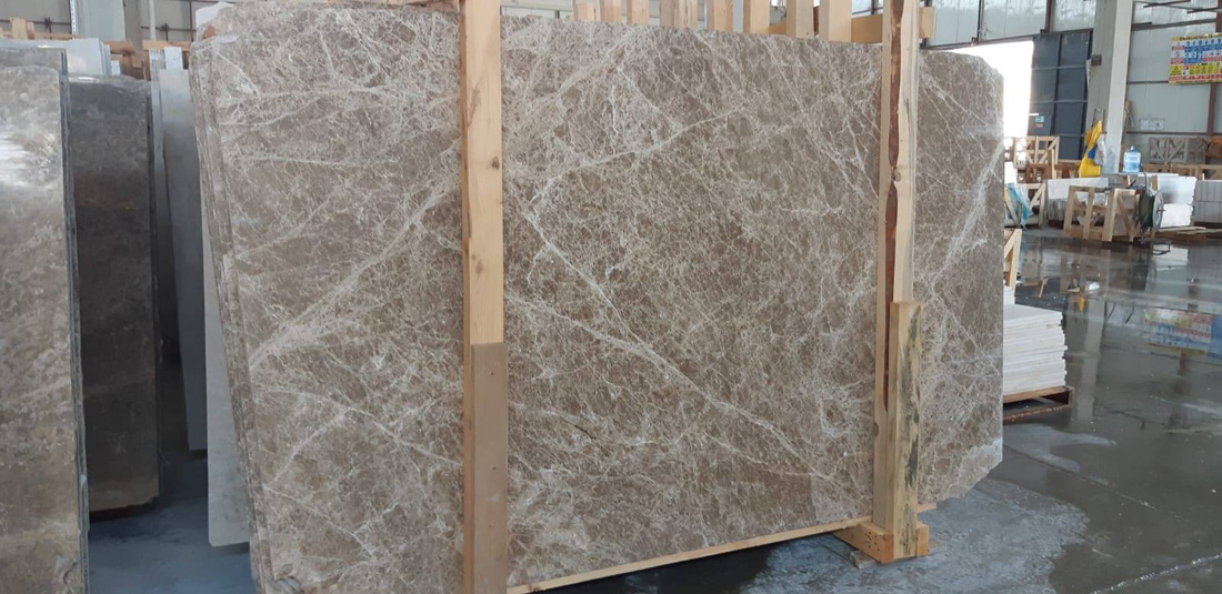 Light Emprador Brown Marble Slabs