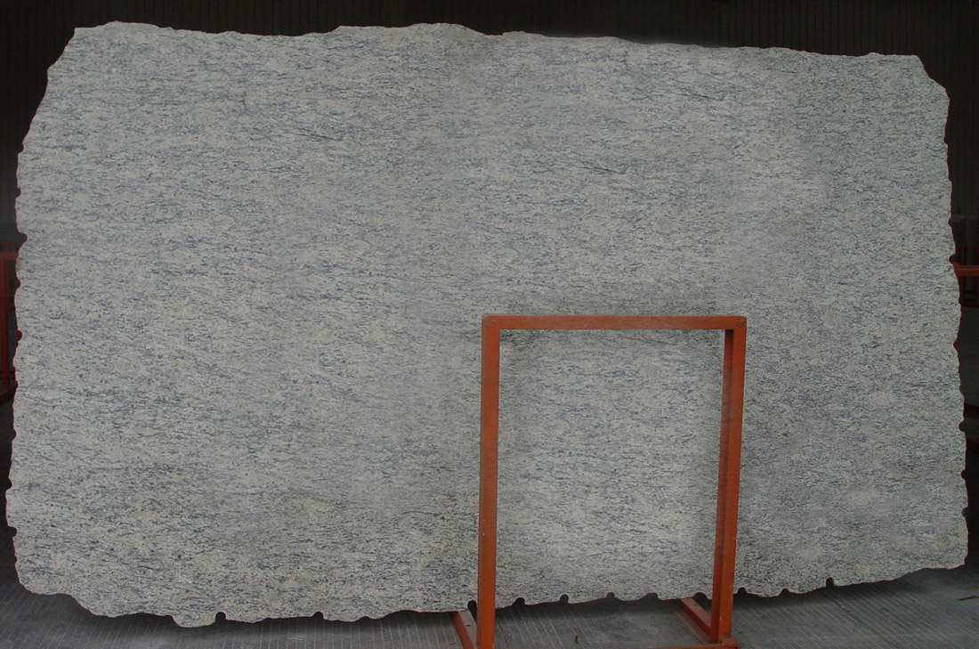 Light Santa Cecilia Stone Slab Polished White Granite Slabs