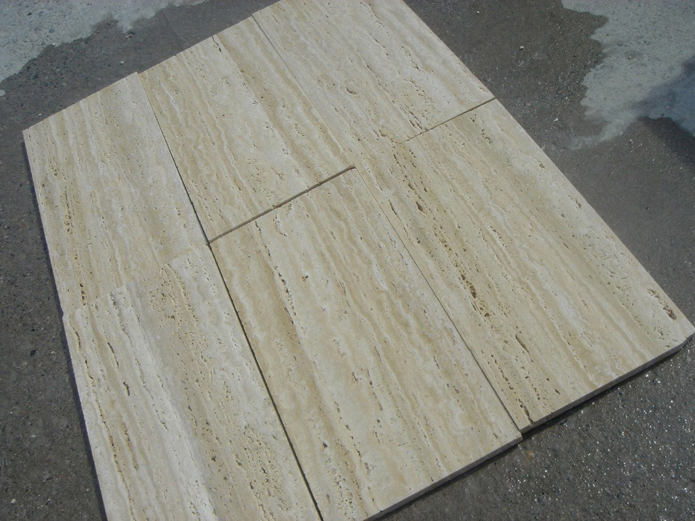 Light Travertine Beige Tiles for Flooring