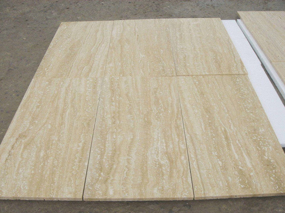 Light Travertine Flooring Tiles Beige Travertine Tiles