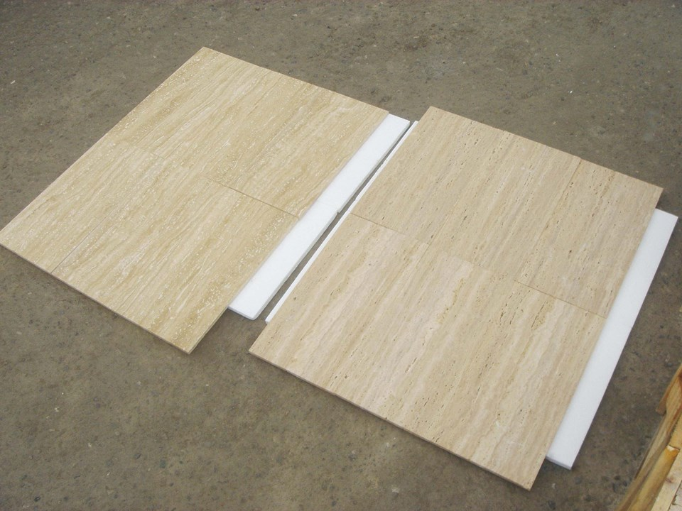 Light Travertine Tiles Beige Travertine Flooring Tiles