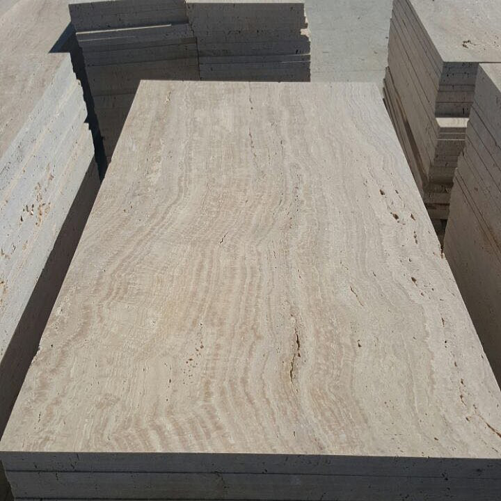 Light Travertine Tiles for Paving