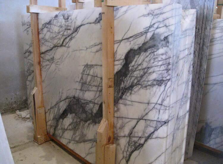 Lilac Marble Turkish White Marble Slabs