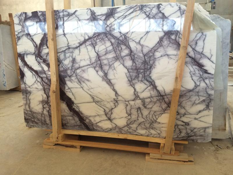 Lilac Polished Marble Slabs from Turkey