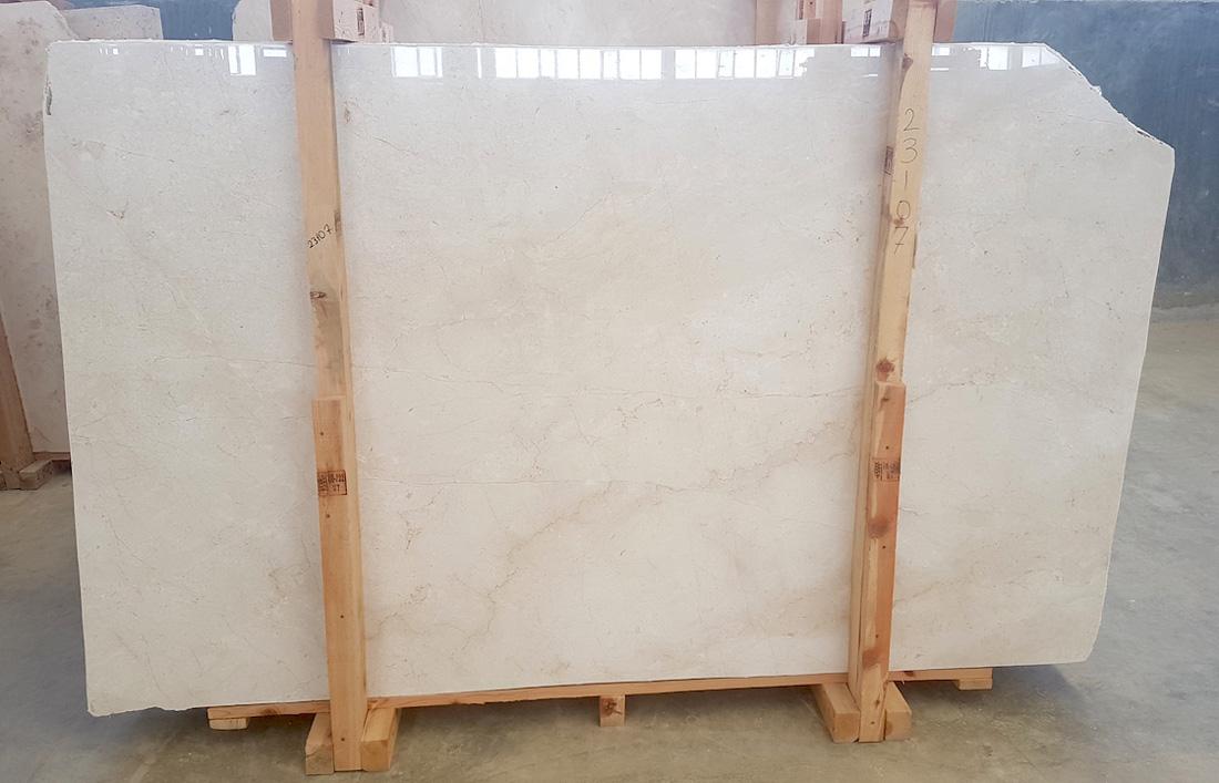 Lilia Beige Marble Slabs Turkish Polished Marble Stone Slabs