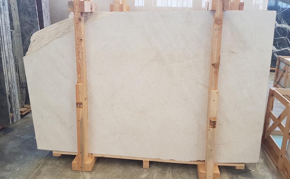 Lilia Standard Beige Marble Slabs Turkish Marble Stone Slabs