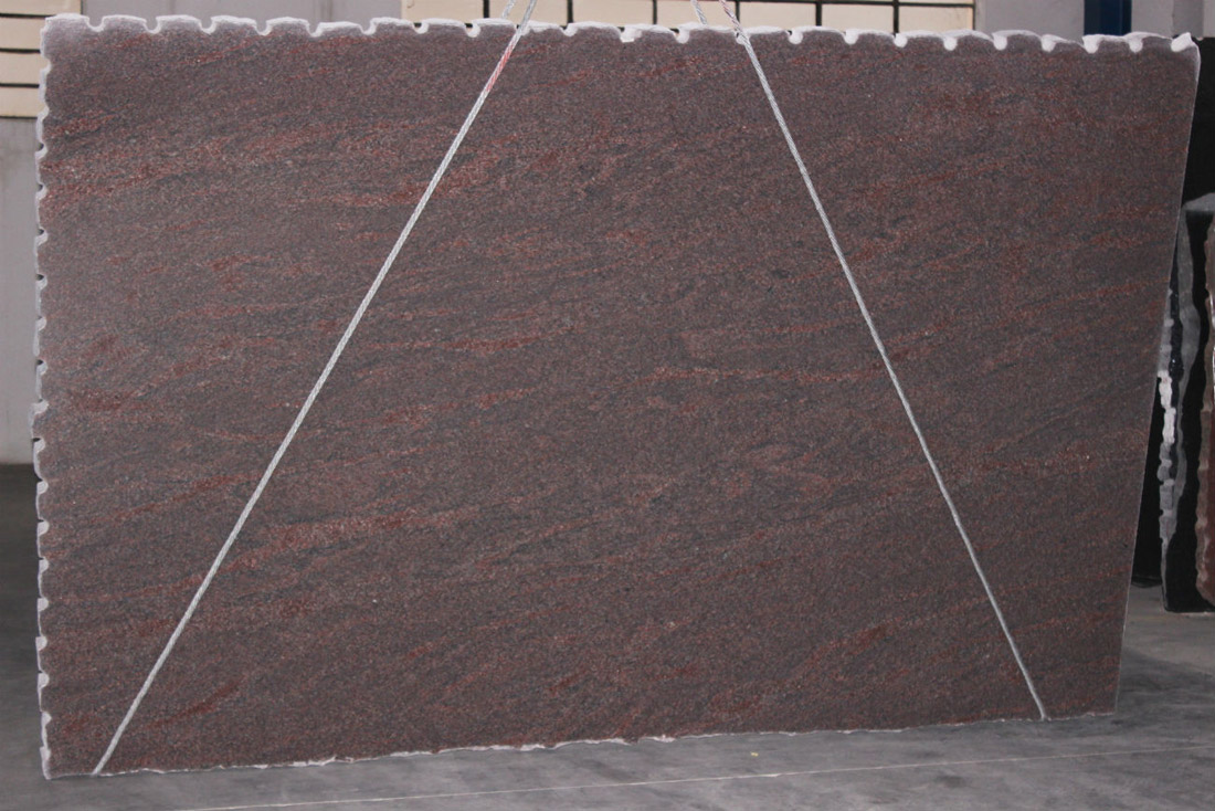 Lilla Gerais Granite Slabs Brazil Red Polished Granite Stone Slabs