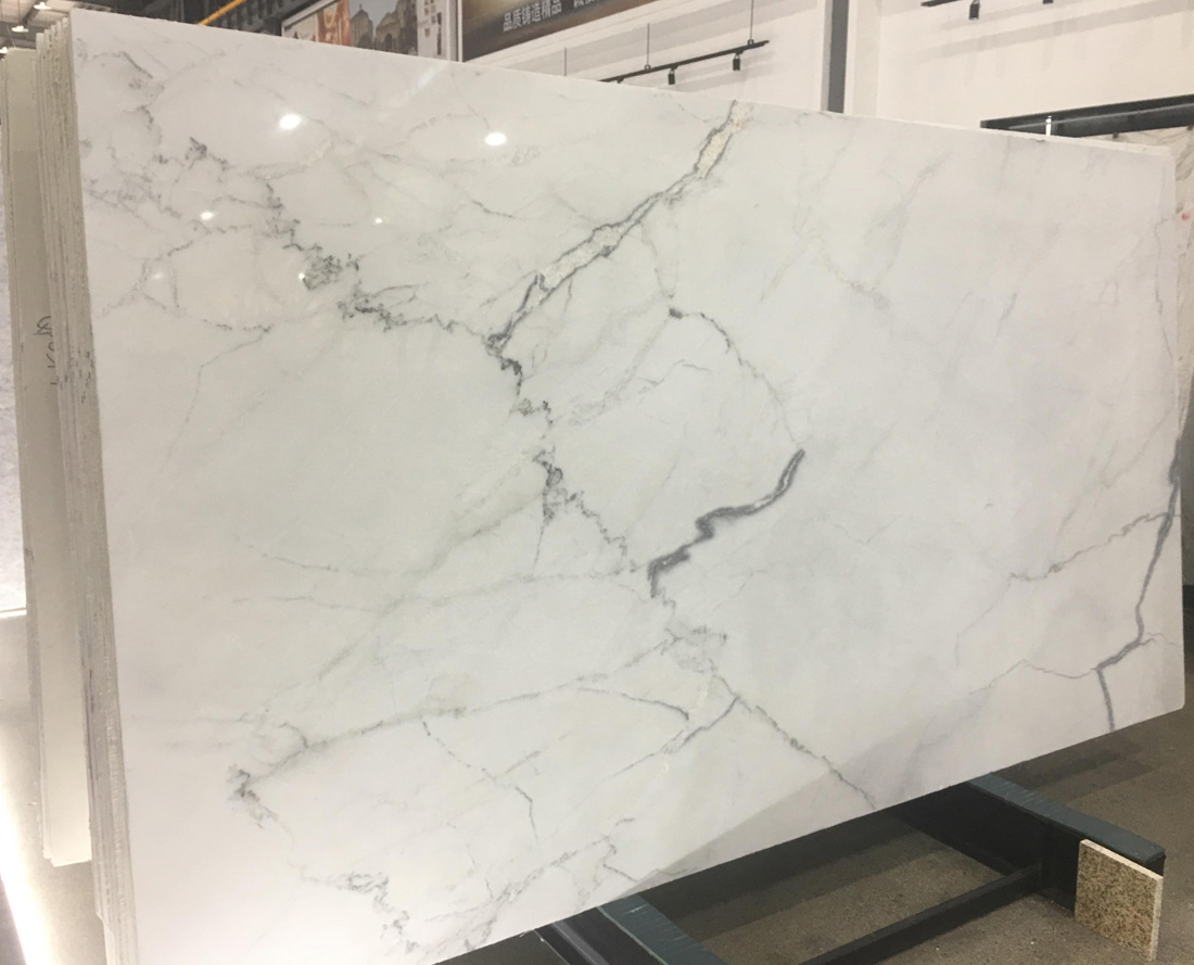 Lincoln White Marble Polished White Marble Slabs