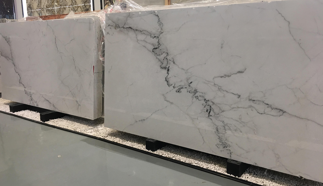 Lincoln White Marble Slabs Polished White Marble Stone Slabs
