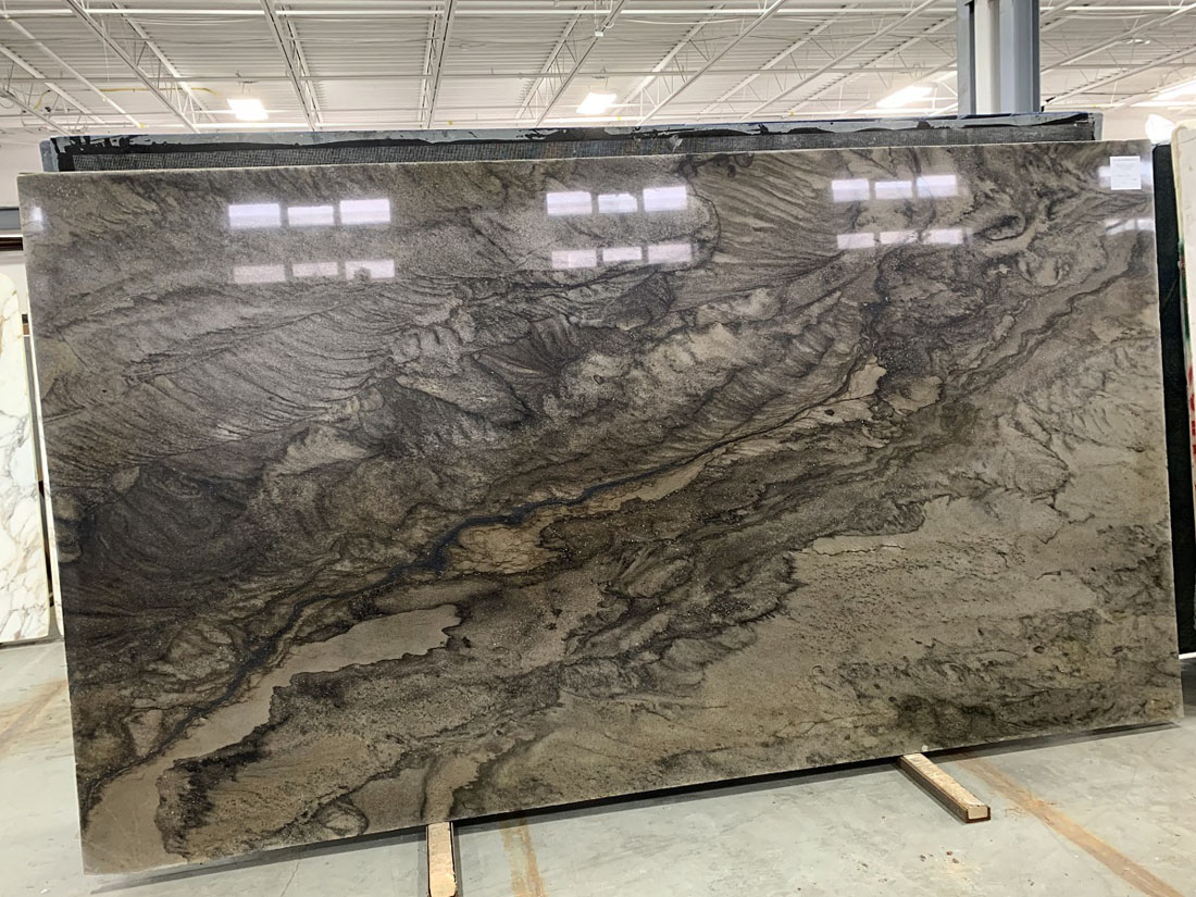 London Smoke 2cm Quartzite Slabs Polished Quartzite Stone Slabs