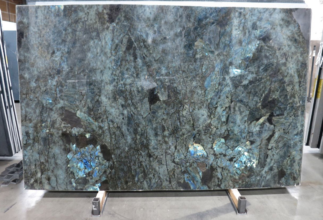Lumerian Blue Polished Granite Slabs with Top Quality