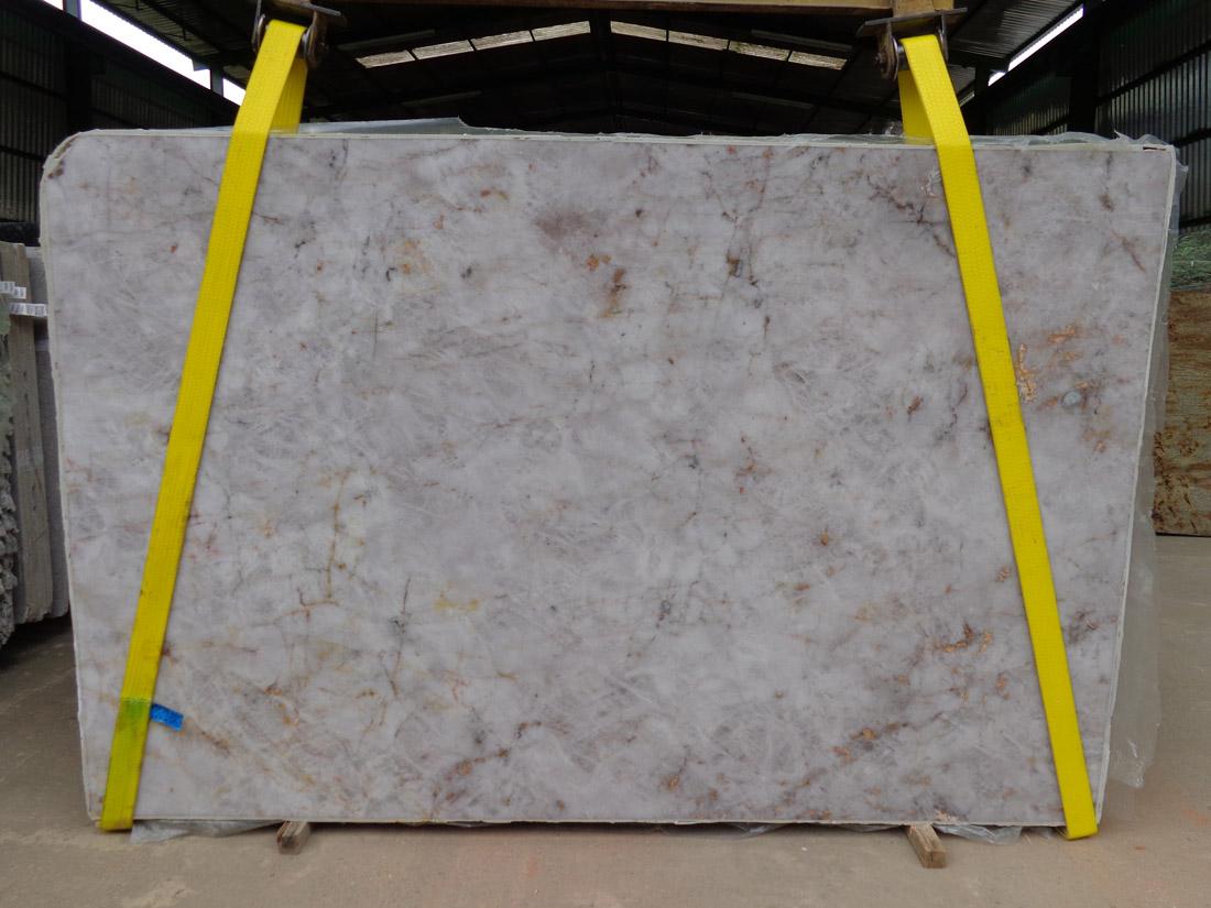 Lumix White Quartzite Slabs