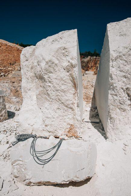 limestone blocks from Italy