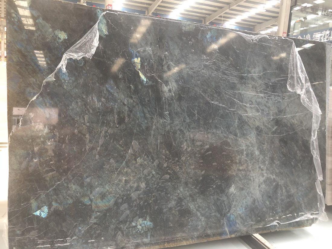 Madagascar Blue Labradorite Blue Granite Slabs