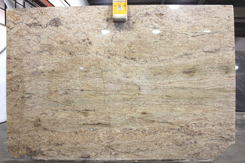 Madura Gold Granite Polished Beige Granite Slabs