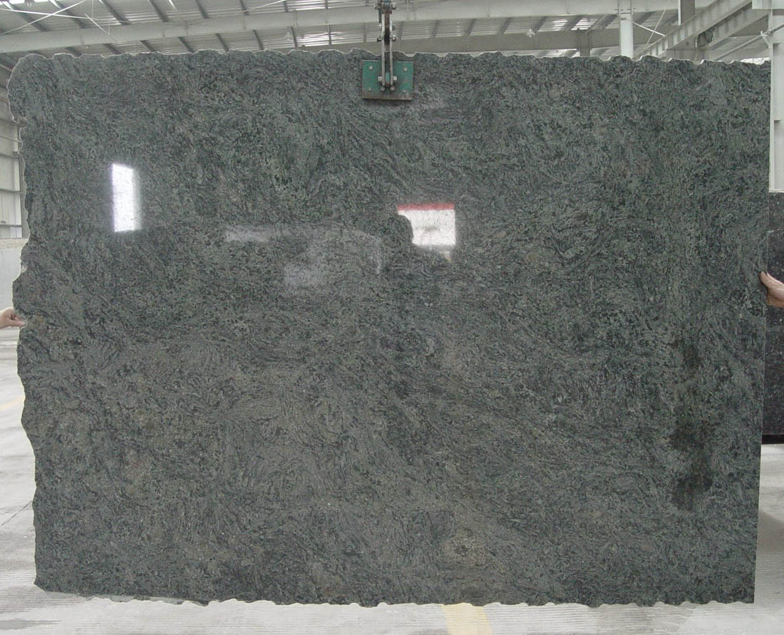 Magic Green Granite Slab Polished Green Granite Slabs