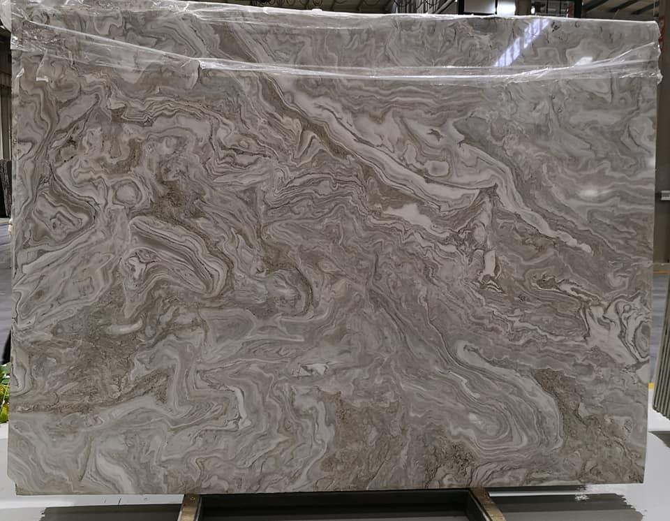 Magic Grey Marble Polished Grey Marble Slabs