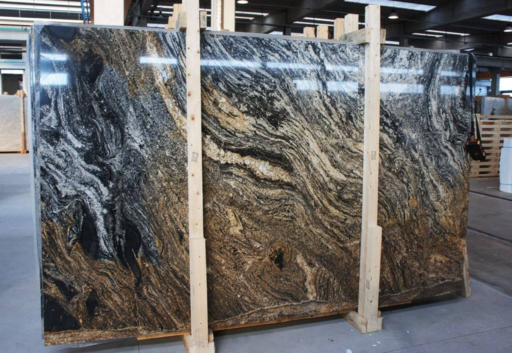Magma Gold Granite Slabs from Brazil