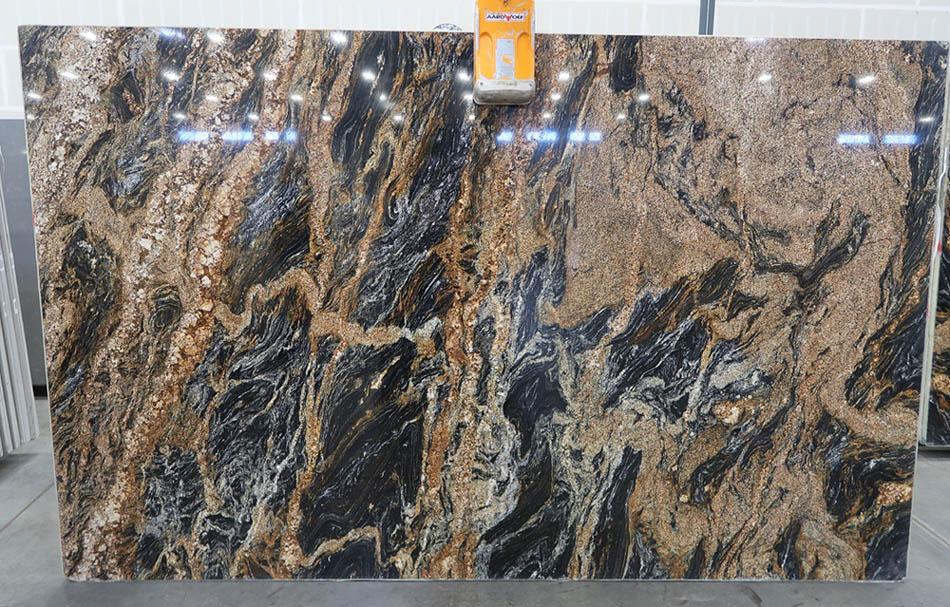 Magma Granite Polished Slabs Brazil Brown Granite Slabs for Countertops
