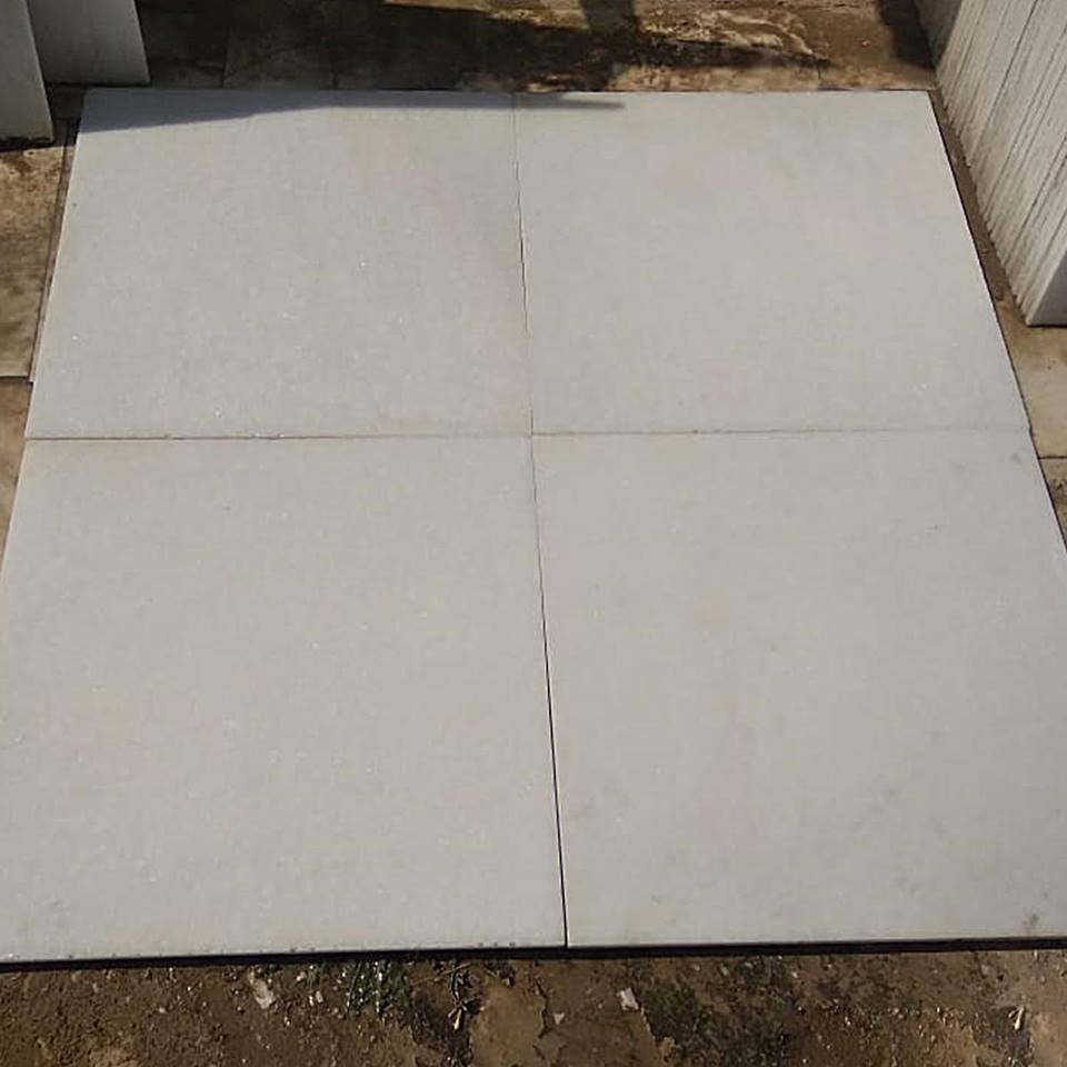 Makrana White Marble Tiles Indian White Marble Flooring Tiles