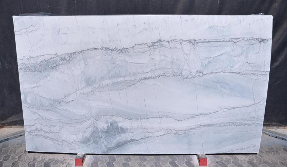 Maldives White Quartzite Stone Slabs Polished Brazil Quartzite Slabs
