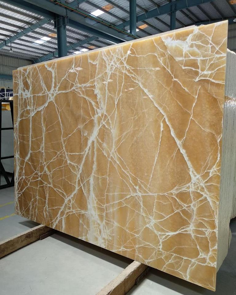 Mango Onyx Polished Yellow Onyx Slabs