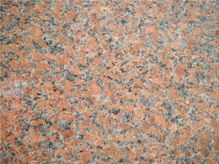 Maple Red Granite Color