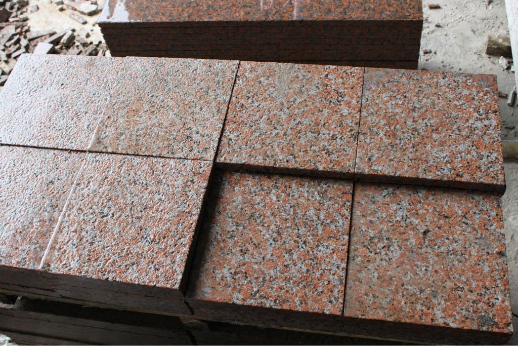 Maple Red Granite Paving Stones