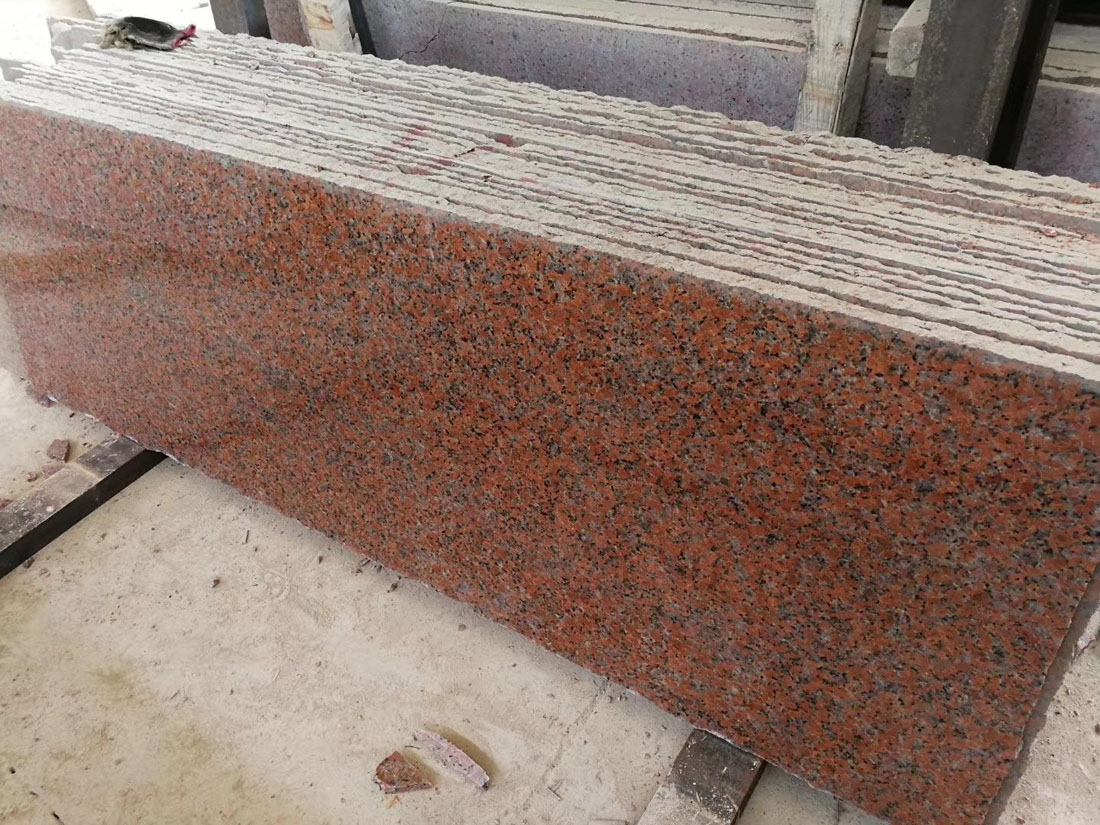 Maple Red Granite Polished Granite Slabs
