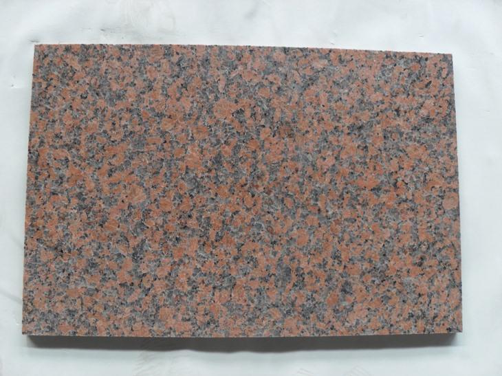 Maple Red Granite Tiles Red Polished Flooring Granite Tiles