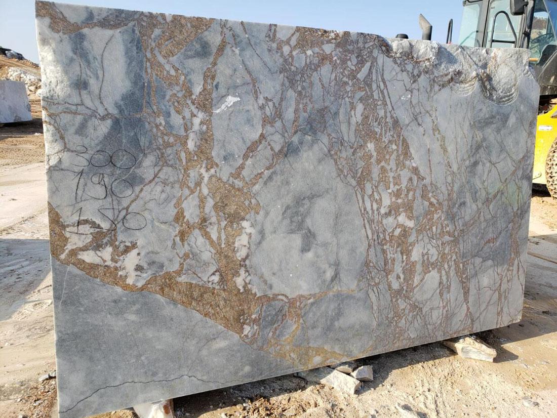 Mappa Block Turkish Natural Marble Stone Blocks