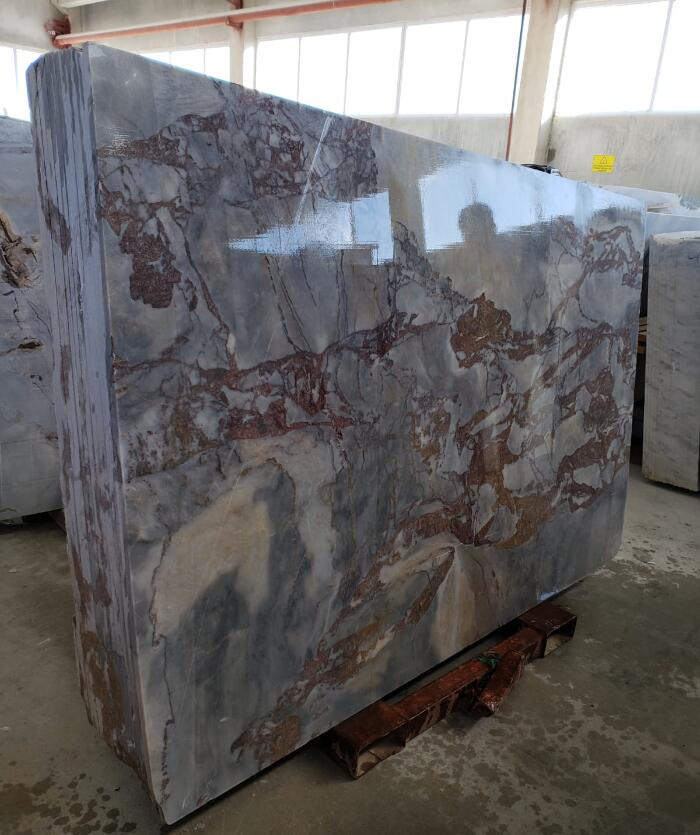Mappa Slab Polished Marble Stone Slabs with Top Quality