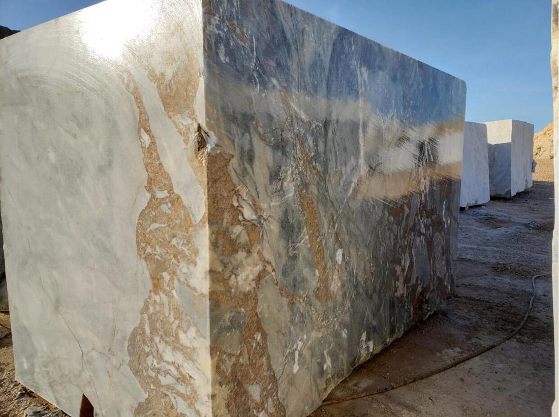 Mappa White Block Natural Marble Stone Blocks