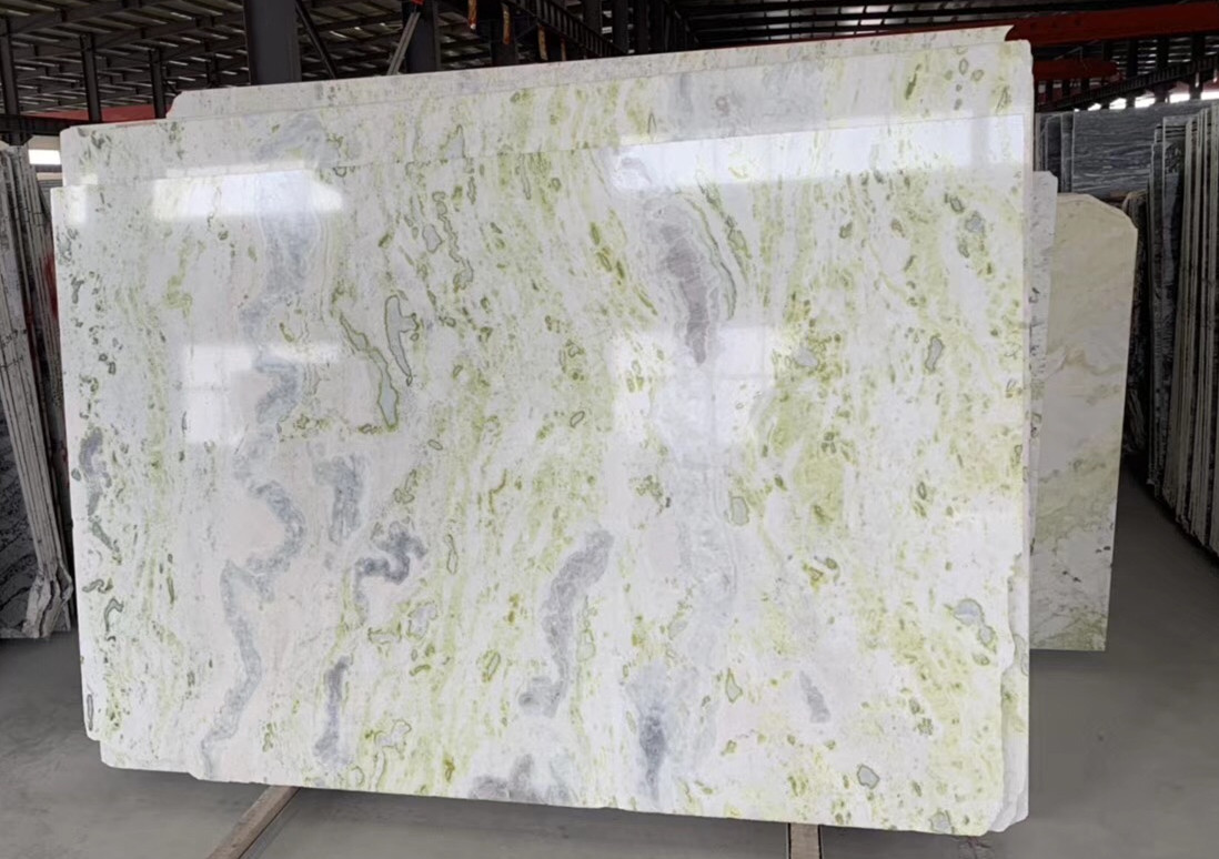 Marble Big Slab Green Polished Marble Slabs
